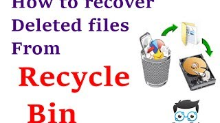 How to recover deleted files from recycle bin using pandora recovery urdu  2017