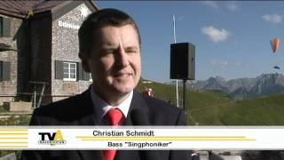 In luftiger Höhe: Oberstdorfer Musiksommer auf dem Nebelhorn
