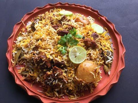 Mutton Dum Biryani - Homemade In Bengali Recipe