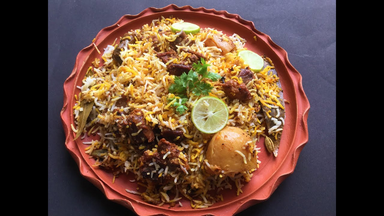Mutton dum biryani homemade in bengali recipe youtube mutton dum biryani homemade in bengali recipe forumfinder
