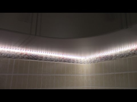 LED Подсветка рабочей зоны кухни своими руками.Хорошая кухня.