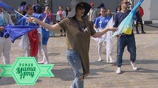 Ternyata Nagita Slavina Jago Dance Menggunakan Bendera!  - Rumah Mama Amy (14/9)