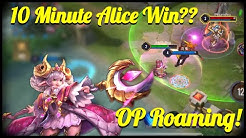 OP ALICE EARLY GAME? HOW TO WIN GAMES FAST | Beg AoV | AOV/Arena of Valor/ROV/Liên Quân Mobile