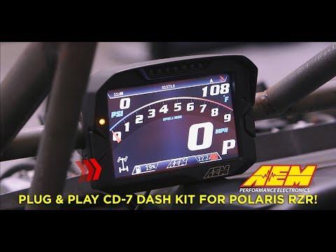 AEM Plug & Play Polaris RZR CD-7 Dash Kit Unveiled!