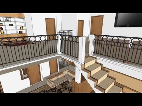 Desain rumah Ibu Dr. Titik