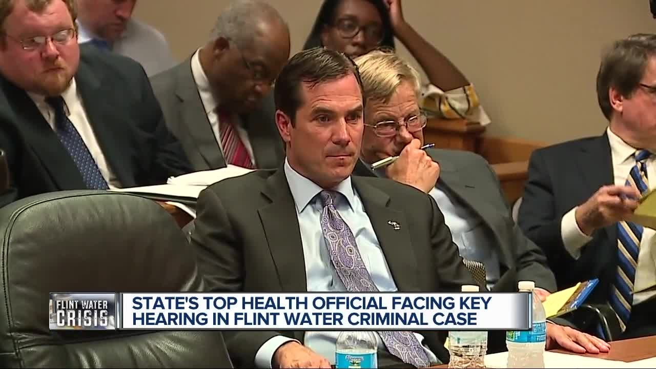 Key court hearing for state official in Flint water scandal