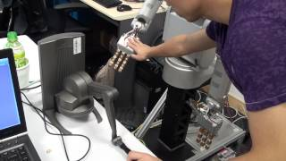 Haptic Feed Back Tele-robotics