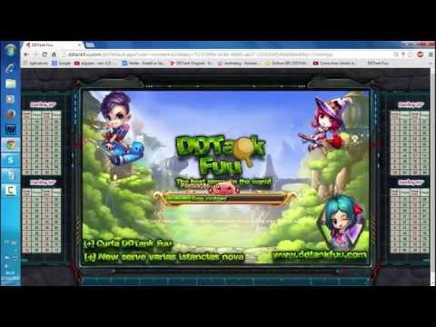 DDTANK - apresentando DDTANK FUU ( novo ddtank pirata)
