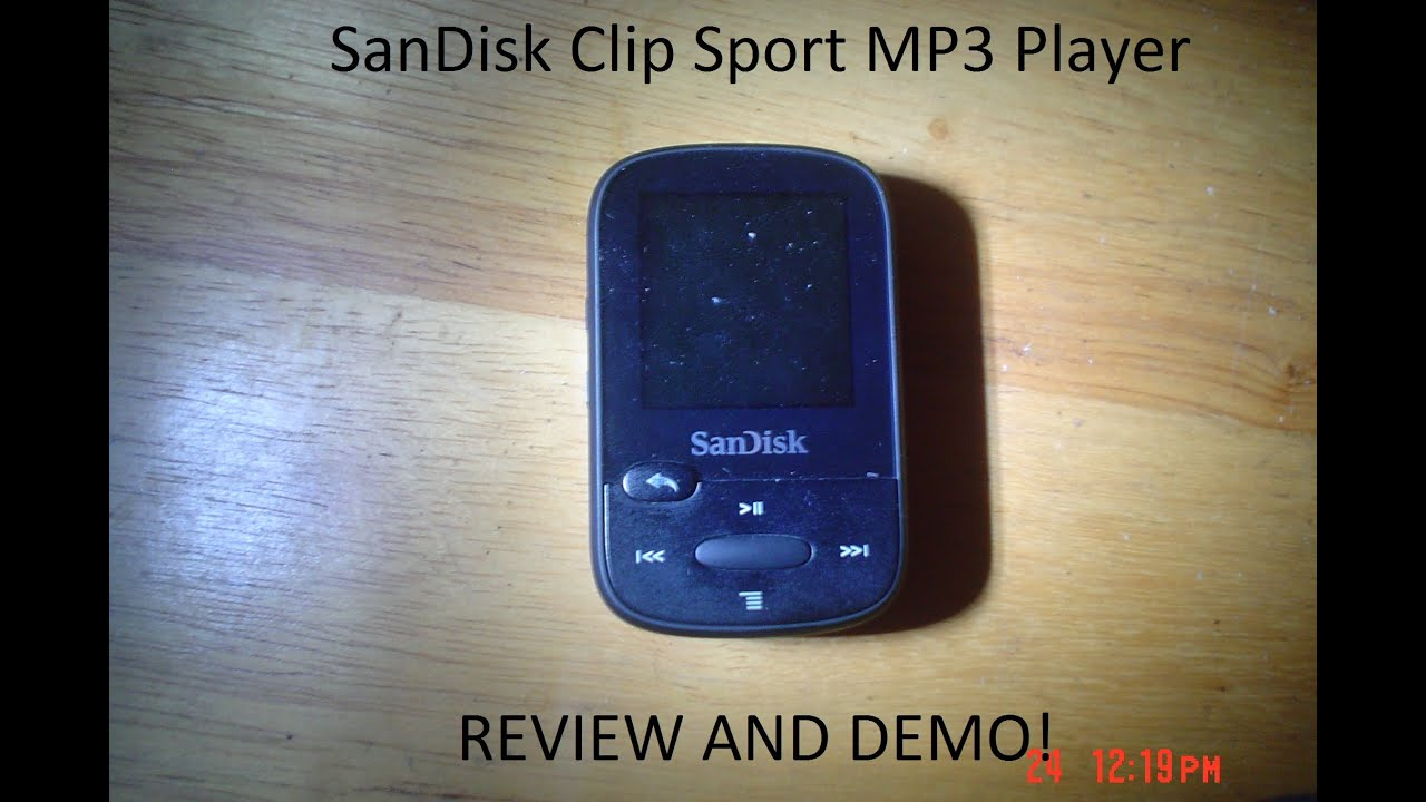 SanDisk Clip Sport MP3 Player Review and Test