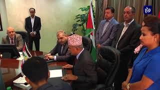 وزارة العمل توقع اتفاقية توظيف العمال من جمهورية نيبال - (18-10-2017)