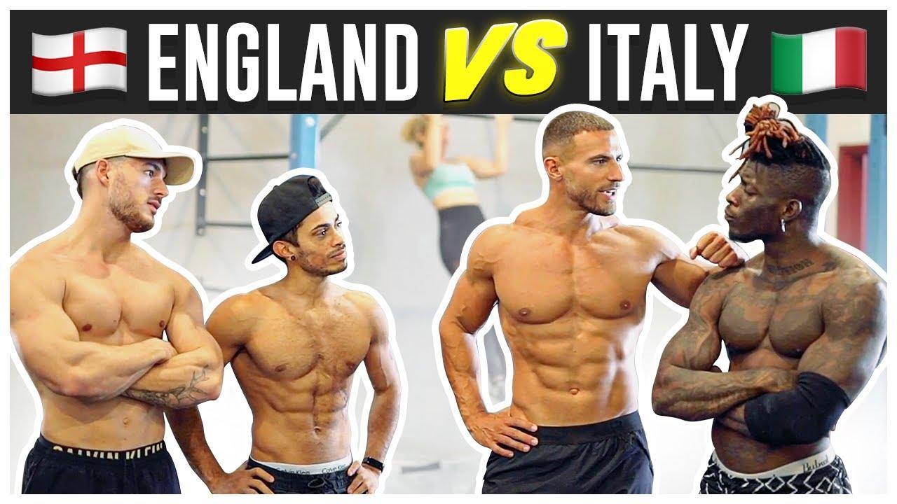 Deadlift & Calisthenics Challenge With The Italians