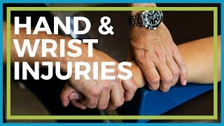 Chronic Hand and Wrist Injuries - Bone, Joint, Ligament Damage from Overuse & Strain