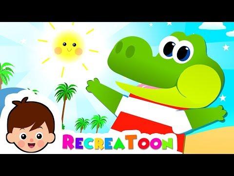 comptine b b chanson enfants ah les crocodiles dessin anim et comptines youtube. Black Bedroom Furniture Sets. Home Design Ideas