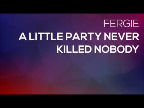 fergie a little party never killed nobody instrumental version youtube. Black Bedroom Furniture Sets. Home Design Ideas