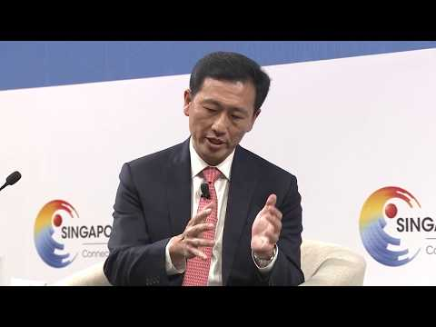 The trade war is 'damaging to everybody,' says Singaporean minister | Singapore Summit
