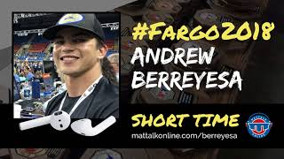#Fargo2018: Cornell wrestler and Nevada native Andrew Berreyesa on coaching Team New York