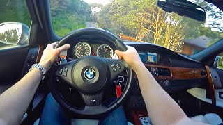E60 BMW M5 V10 Point of View EPIC Drive!