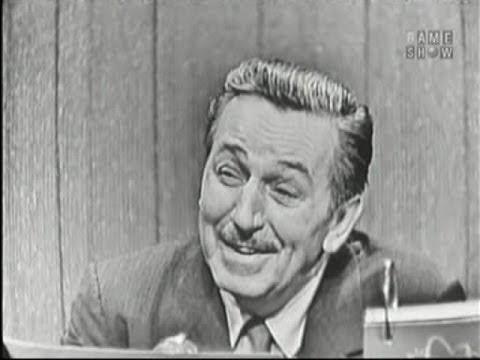 What's My Line? - Walt Disney; Jerry Lewis [panel] (Nov 11, 1956)