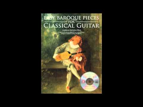 Easy Baroque Pieces for Classical Guitar by Jerry Willard
