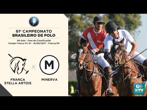 Franca Stella Artois x Minerva (61º Campeonato Brasileiro de Polo - 08Gols) 16/06/2017