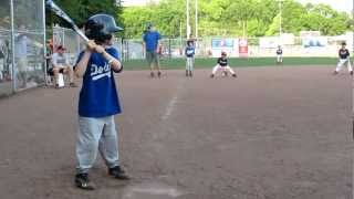 6-yr-old Unassisted Triple Play