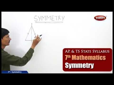 Symmetry | 7th Mathematics | AP & TS Syllabus | Live Video