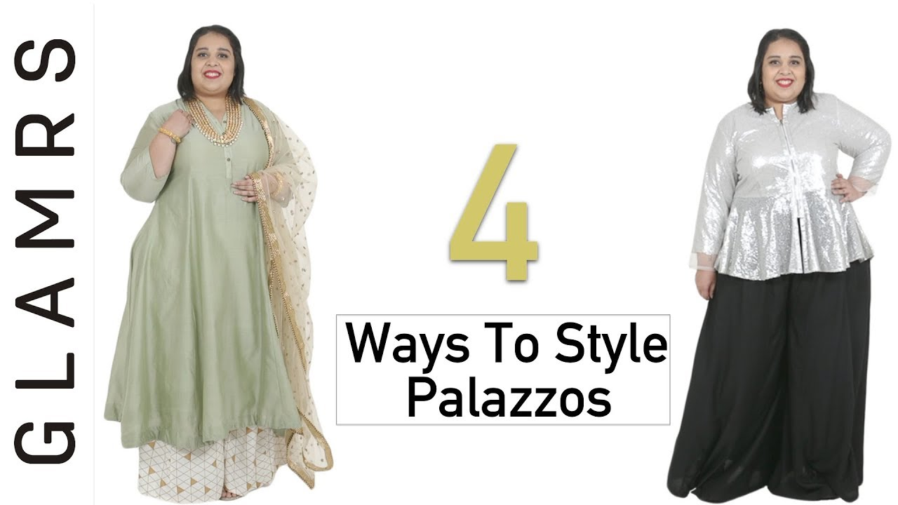 4 Stylish Ways To Style Palazzo Pants