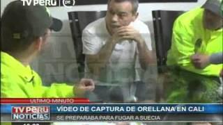 Imágenes exclusivas de la captura de Rodolfo Orellana en Colombia