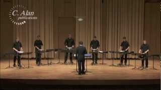 Aggression for Six Snare Drums (percussion ensemble) by Yo Goto