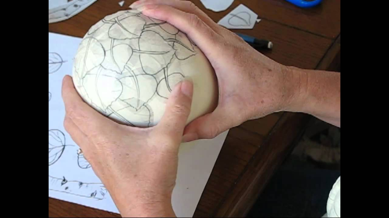 DVD release 2011 How to Design On Ostrich Eggshell - YouTube