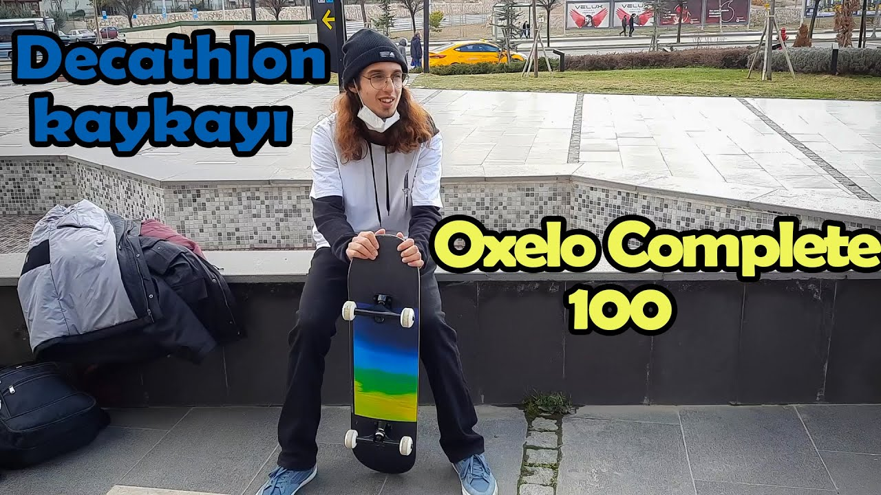 DECATHLON'DAN KAYKAY ALMAK!(COMPLETE 100 OXELO) kaykay/vlog