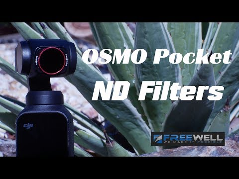 How To Use ND Filters For The DJI OSMO Pocket - Use And Benefits - Freewell ND Filters