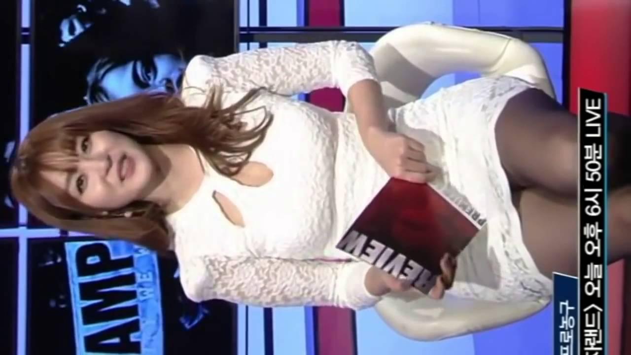 신아영 아나운서 직캠 5 韓国セクシーアナウンサーミニスカート sexy announcer anunciador atractivo