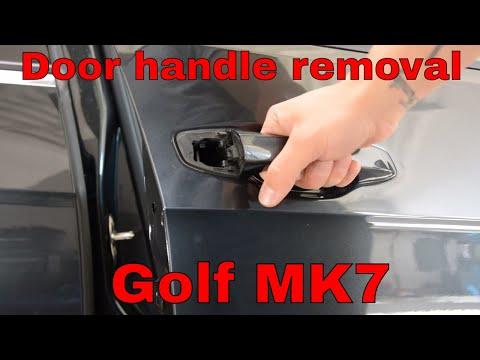 VW Golf mk7 Passenger side door handle removal