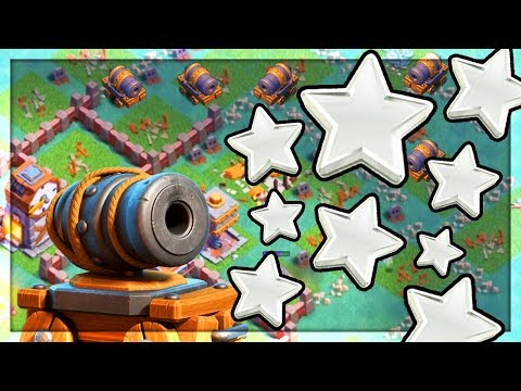 CRUSHED With Cannon Carts - and CRAZY Endings! Clash of Clans Builder Hall Funny Moments!