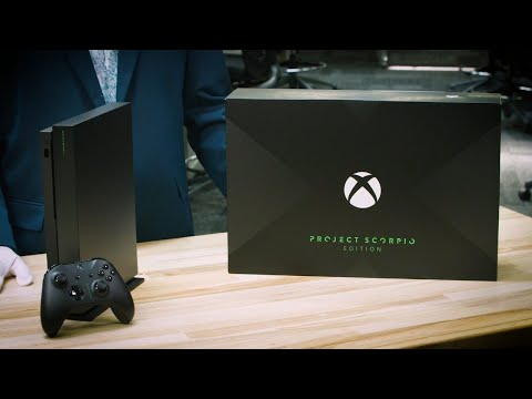 Xbox One X Project Scorpio Edition Unboxing – Major Nelson