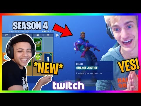 Streamers React To *NEW* SEASON 4! Fortnite Battle Royale New Update V4.0
