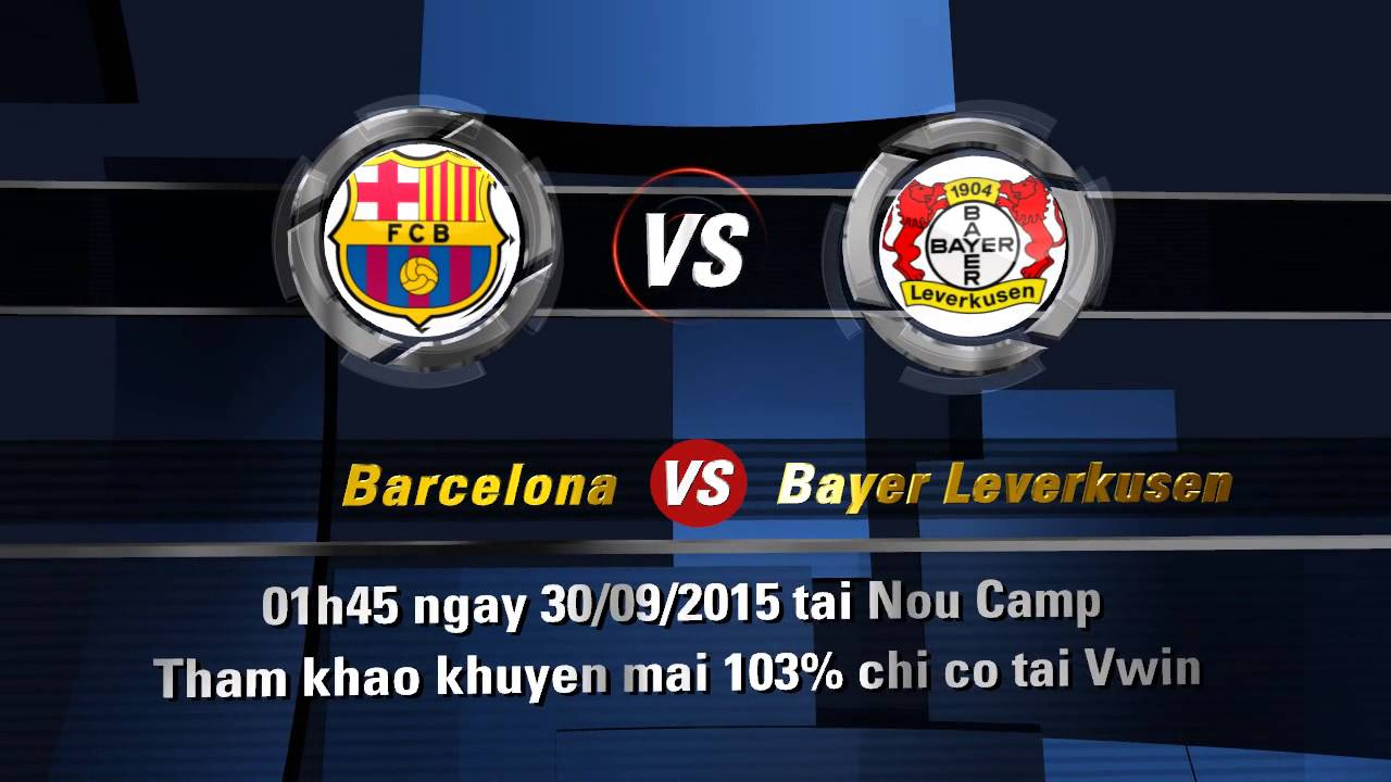 Barcelona vs bayer leverkusen youtube
