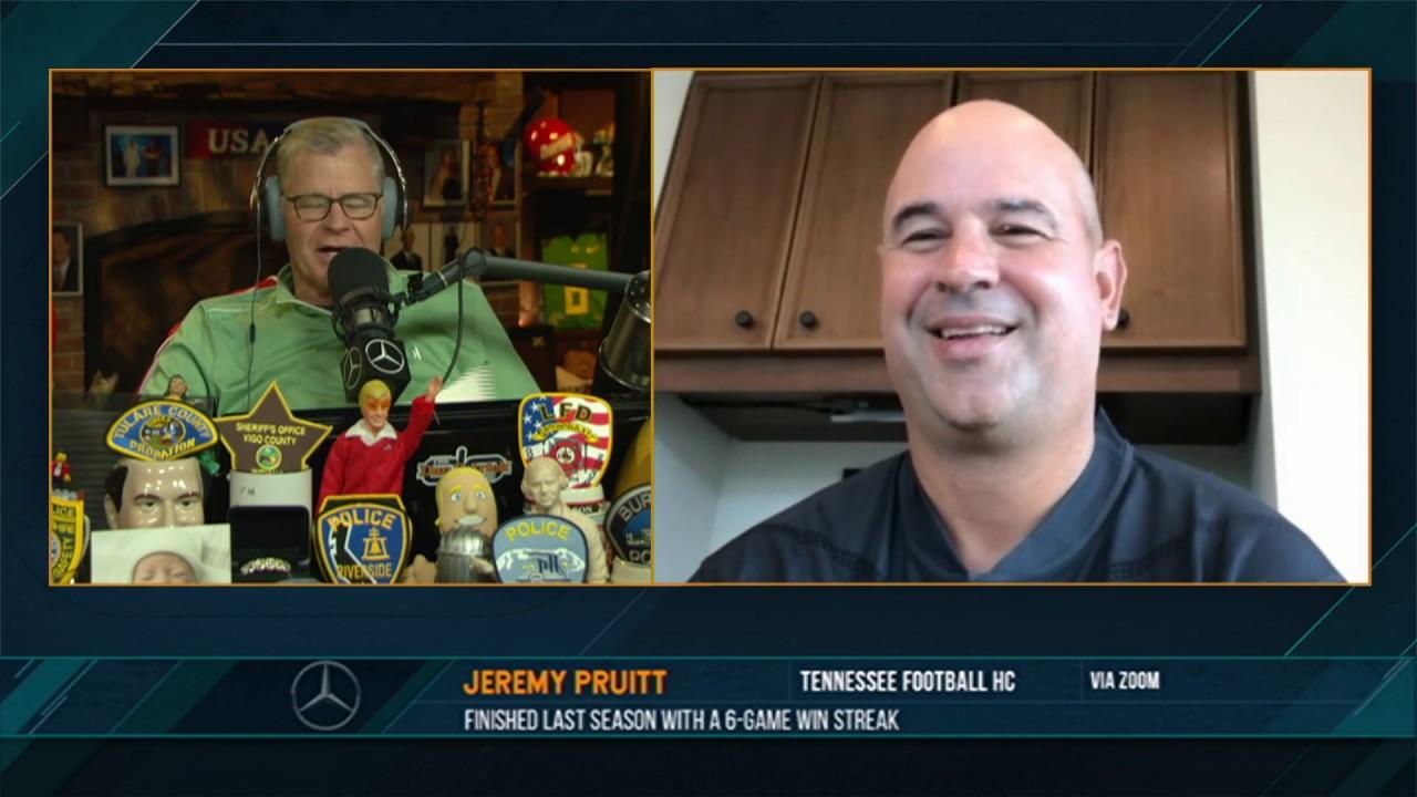 Jeremy Pruitt on the Dan Patrick Show (Full Interview) 07/01/20