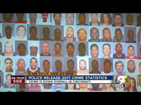 Police Release 2017 Crime Statistics