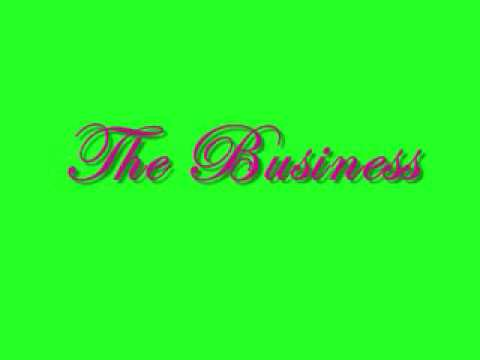 The Business - Casha ft. Yung Berg