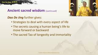 Tao De Jing For All Life Teaching With Master Sha