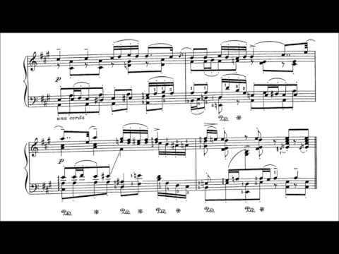 Schubert-Godowsky - Moment musicaux Op. 94 No. 3 (audio + sheet music)