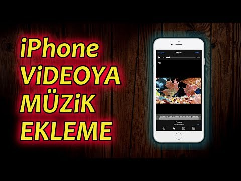 How to add video music on iPhone ?