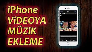 iPhone VİDEOYA MÜZİK NASIL EKLENİR? (En kolay ve kısa yolu) | #iphone #edit #imovie