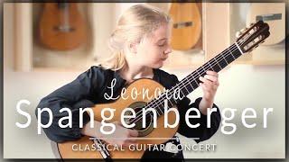 Leonora Spangenberger (age 11) - Full Classical Guitar Concert at Siccas Guitars - J.S Bach, Legnani