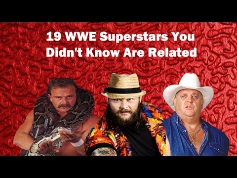 21 WWE Superstars you might not know are related