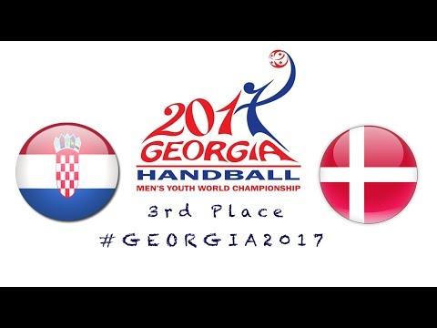 Croatia - Denmark (3rd Place) IHF Men's Youth World Championship