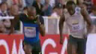 Powell Defeats Bolt in Stockholm thumbnail