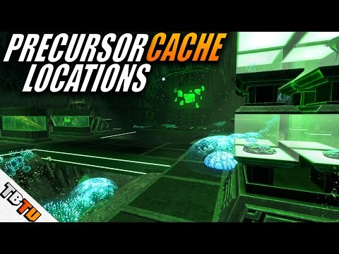 How To Find ALL the PRECURSOR CACHES! - Subnautica Walkthrough E11 - Precursor Data Terminals